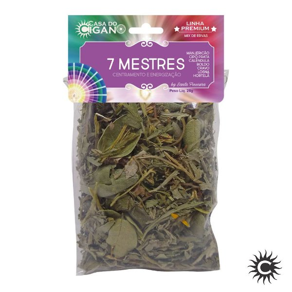 Banho de Erva - Santa Frescura Premium - 7 Mestres