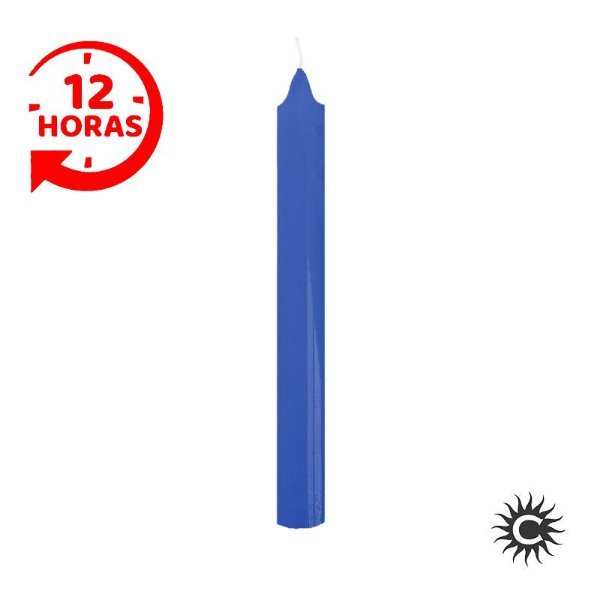 Vela - 12 horas - Azul Escuro