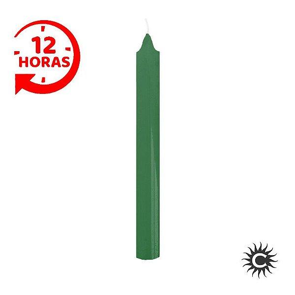 Vela - 12 horas - Verde