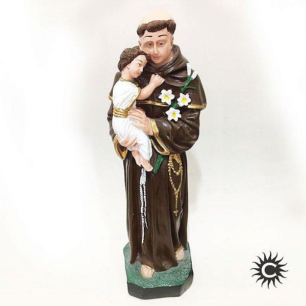 Imagem - Santo Antonio - 40cm Gesso