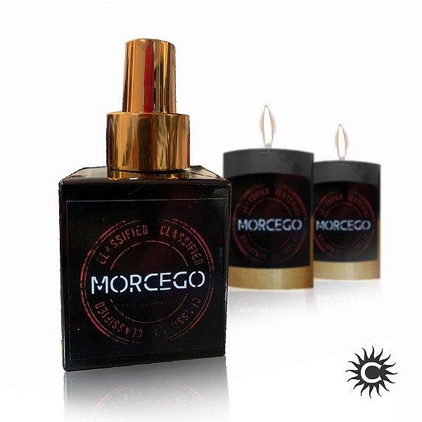 Eau de Parfum - MORCEGO + 2 Velas Morcego (Canela)