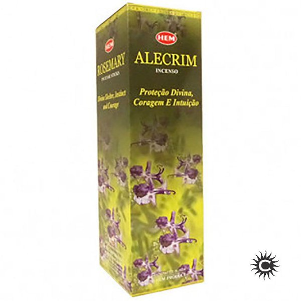 Incenso Hem - ALECRIM  - BOX com 25 caixas