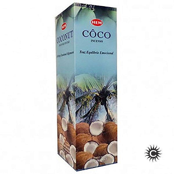 Incenso Hem - COCO  - BOX com 25 caixas