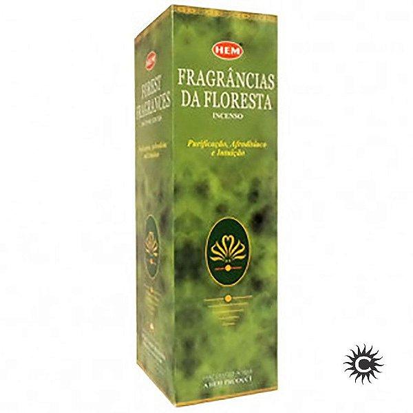 Incenso Hem - FRAGRANCIAS DA FLORESTA  - BOX com 25 caixas