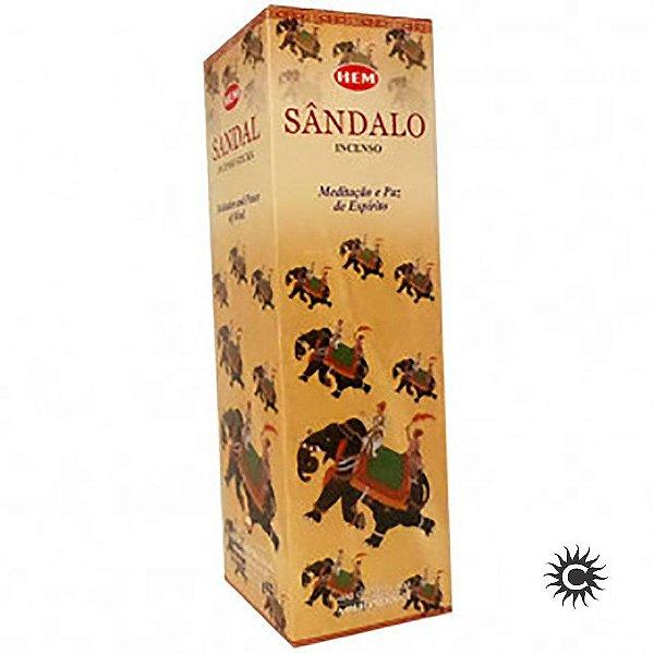 Incenso Hem - SÂNDALO  - BOX com 25 caixas