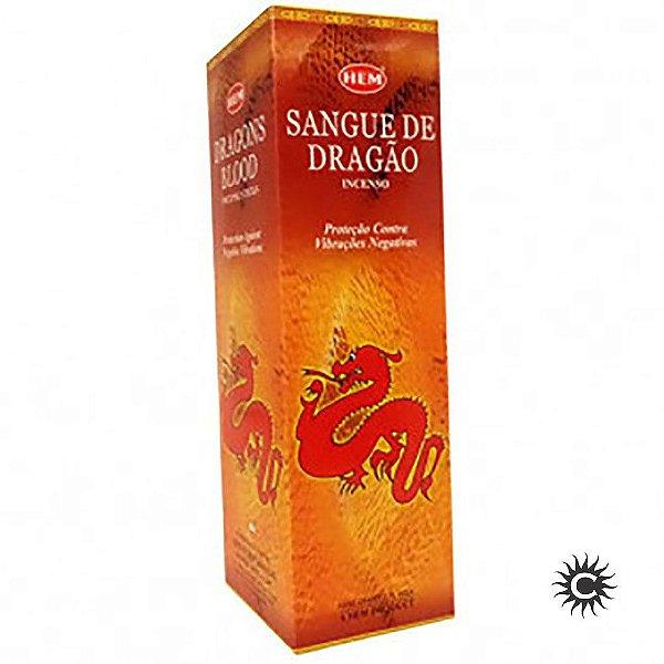 Incenso Hem - SANGUE DE DRAGÃO  - BOX com 25 caixas