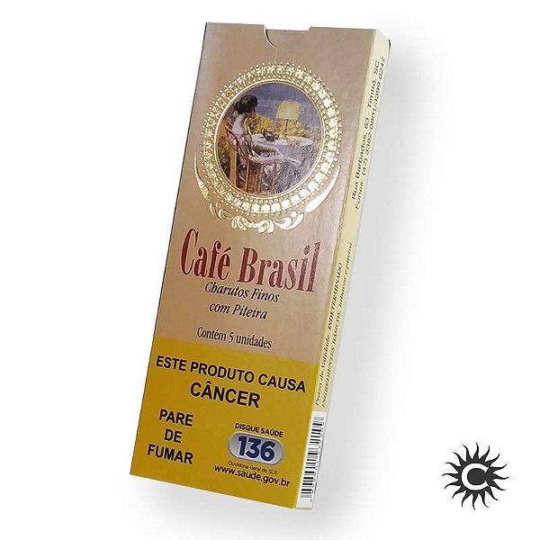 Cigarrilha - Café Brasil - Natural