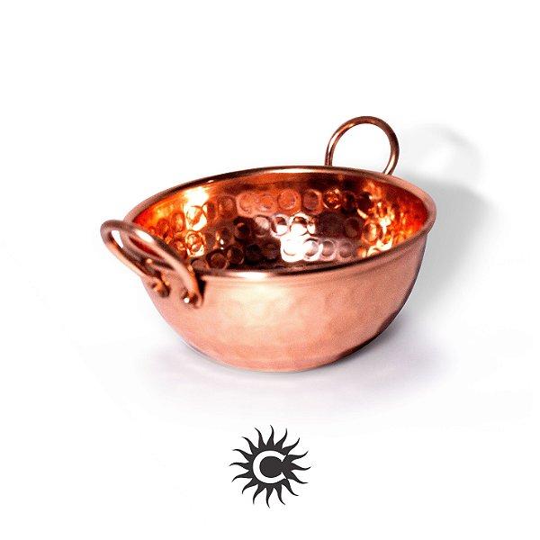 Tacho de cobre 16 cm | COM REBITE