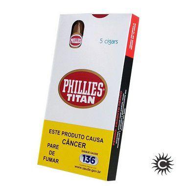 Charuto - PHILLIES Titan Natural 50 Unidades