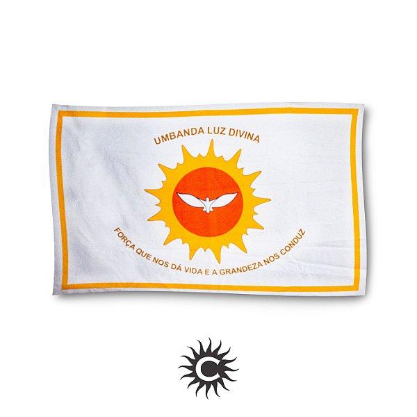 Bandeira  da Umbanda - Tamanho Único