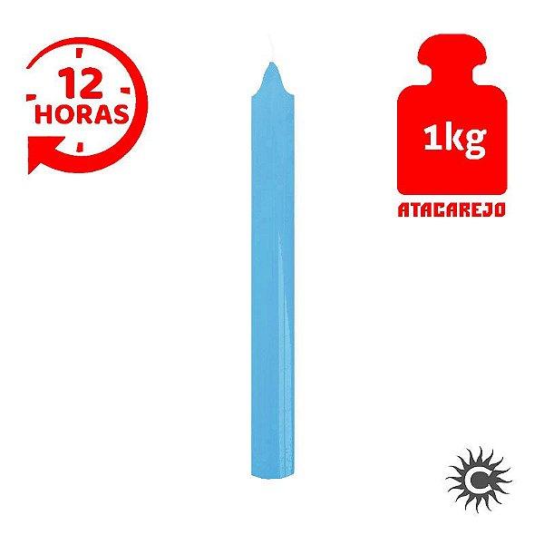 Vela - 12 horas - Kilo - Azul Claro
