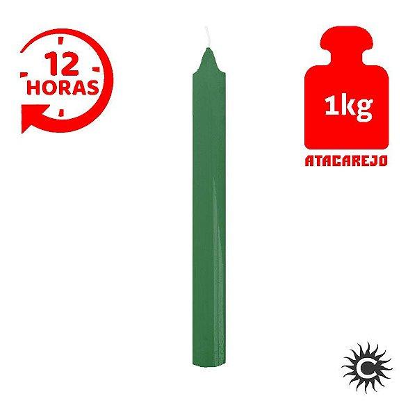 Vela - 12 horas - Kilo - Verde