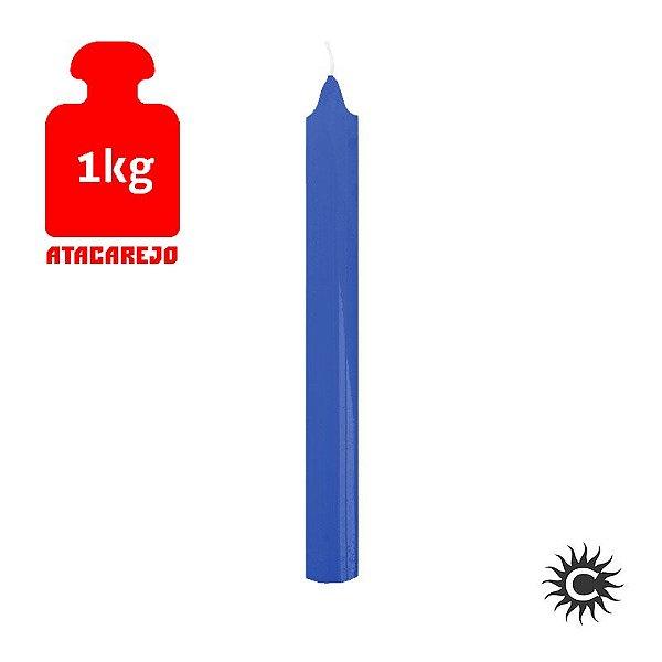 Vela - Palito - Kilo - Azul Escuro