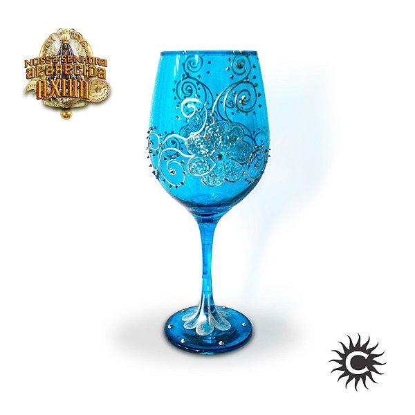 Taça  de Luxo Azul