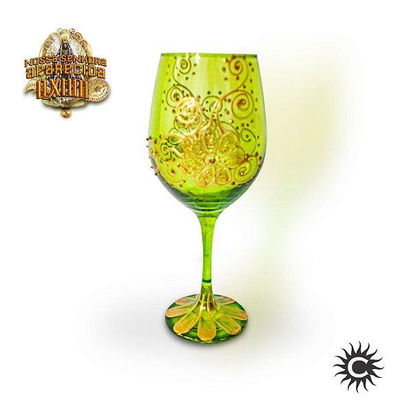 Taça  de Luxo Verde