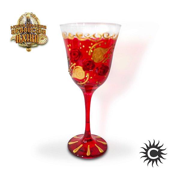 Taça  de Luxo Vermelha