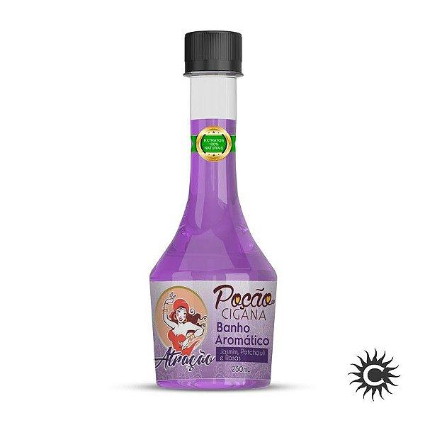 Banho Aromático - Poção Cigana 250 ml - Atração