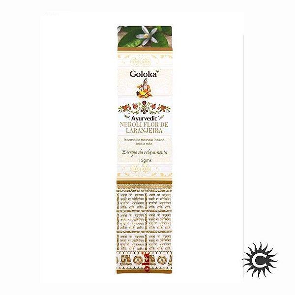 Incenso - Goloka - Ayurvedic - Neroli Flor de laranjeira
