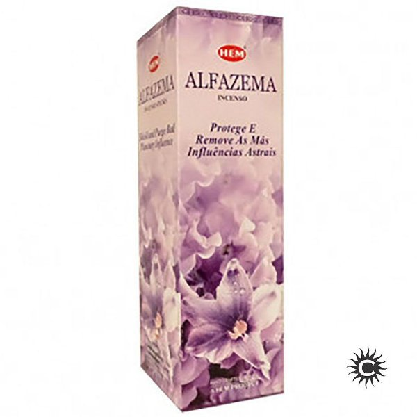 Incenso - HEM - BOX com 25 caixas - ALFAZEMA