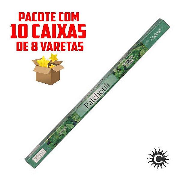 Incenso - VINATI - PAC com 10 caixinhas - PATCHOULI