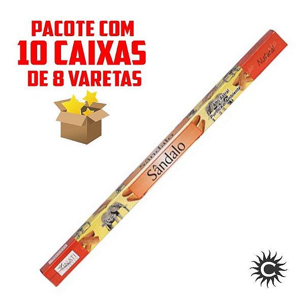 Incenso - VINATI - PAC com 10 caixinhas - SANDALO