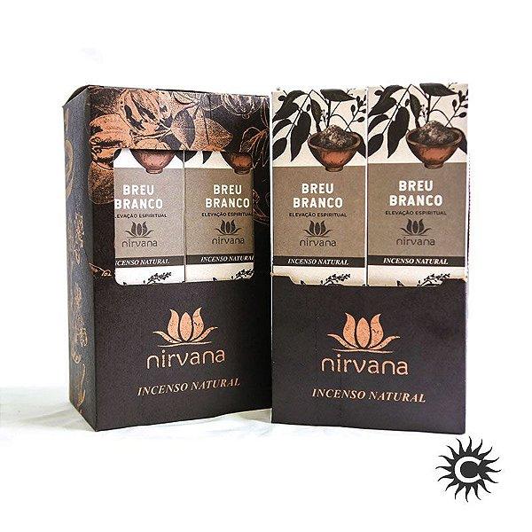Incenso - Natural Nirvana Caixa com 12 - BREU BRANCO