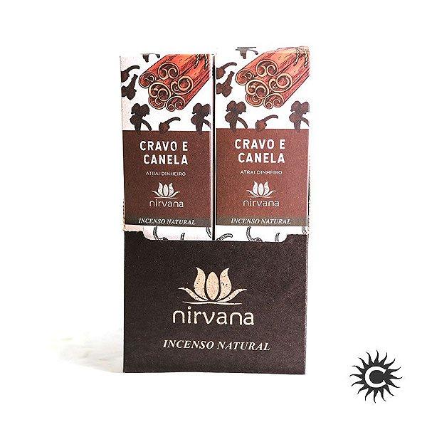 Incenso - Natural Nirvana Caixa com 12 - Cravo e Canela