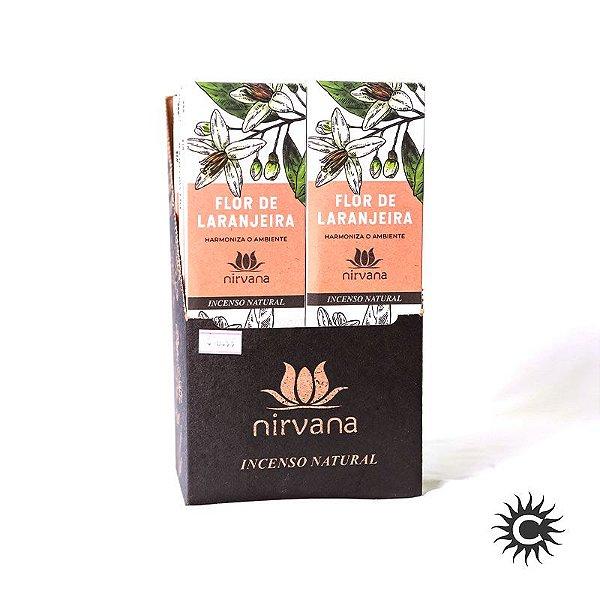 Incenso - Natural Nirvana Caixa com 12 - FLOR DE LARANJEIRA