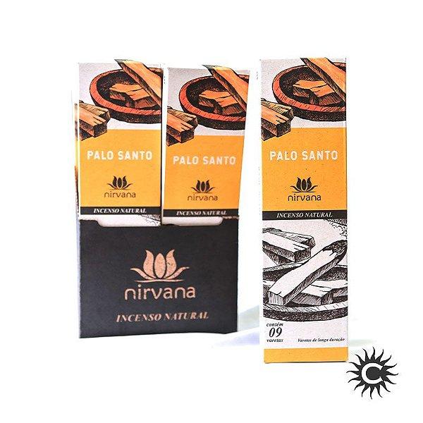 Incenso - Natural Nirvana Caixa com 12 - Palo Santo