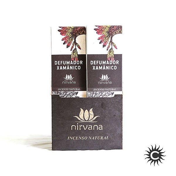 Incenso - Natural Nirvana Caixa com 12 - Xamanico