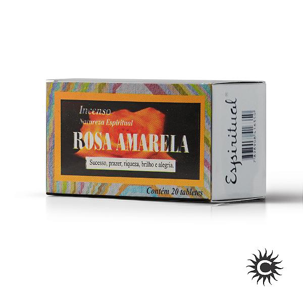 Defumador - Rosa Amarela