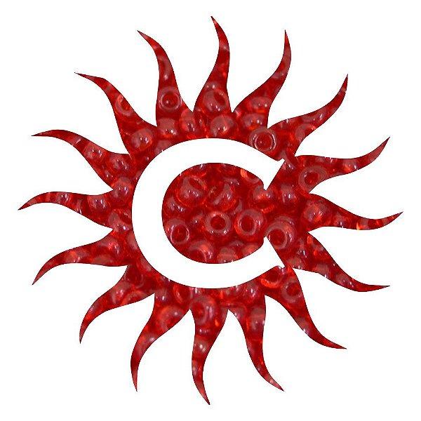 Missanga - Cristal - 100g - Vermelha