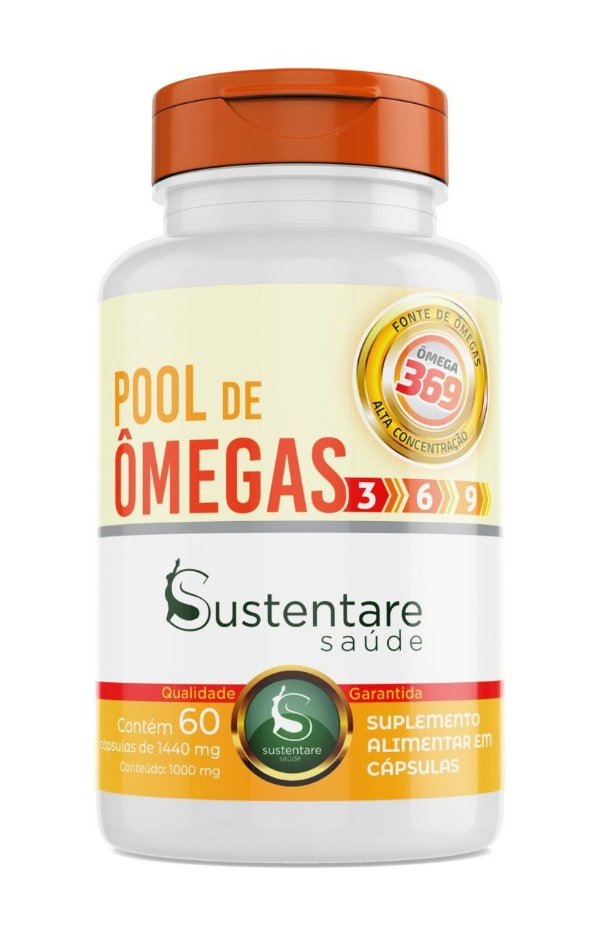 Pool de Ômegas 369 - Sustentare Saúde