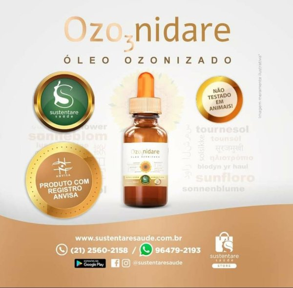 Ozonidare Oleo ozonizado da Sustentare