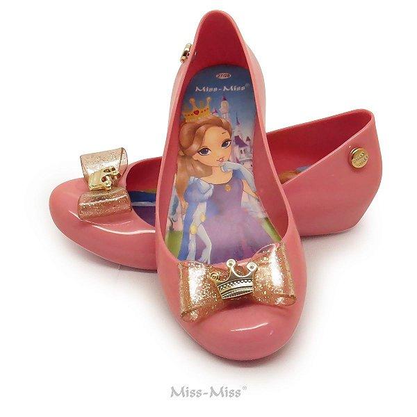 Sapatilha Infantil Princess - Rosa Chiclete
