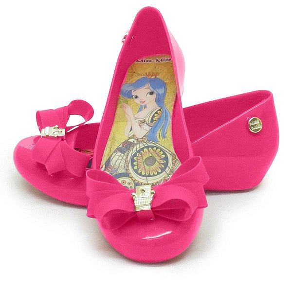 Sapatilha Infantil Laço Mota- Pink