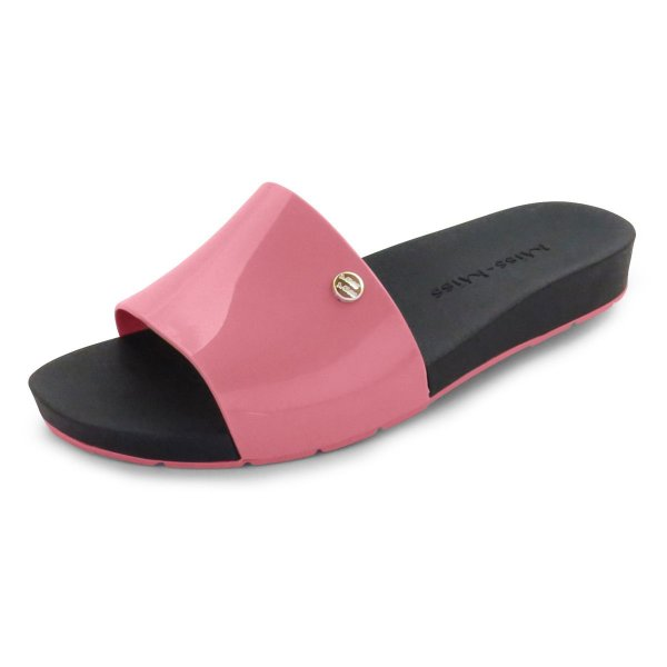 Chinelo Slide Bright Miss-Miss | Rosê