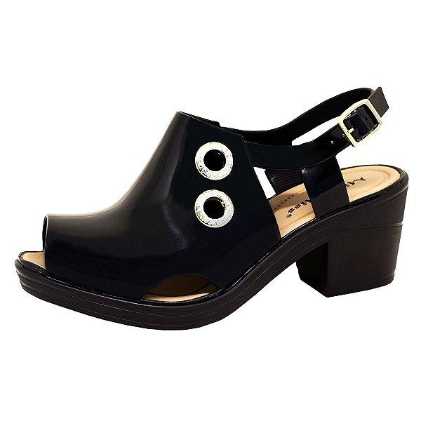 Sandal Boot Sola Baixa 134 | Preta