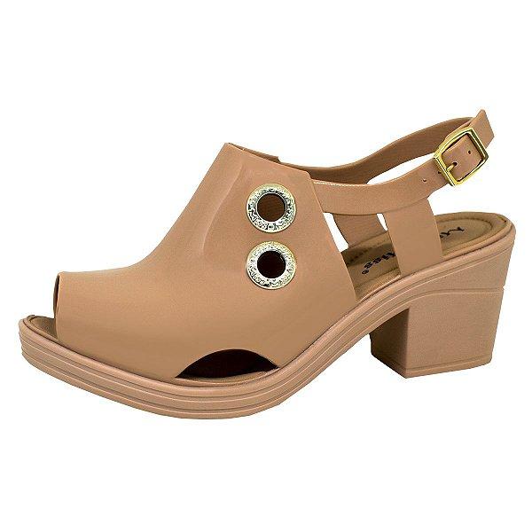 Sandal Boot Sola Baixa 134 | Cáqui