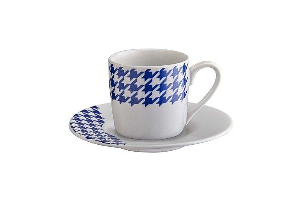Jogo de xícaras para café - 12 peças