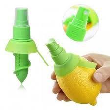 Conjunto de 2 Sprays Pulverizadores de Limão em Plástico - Verde