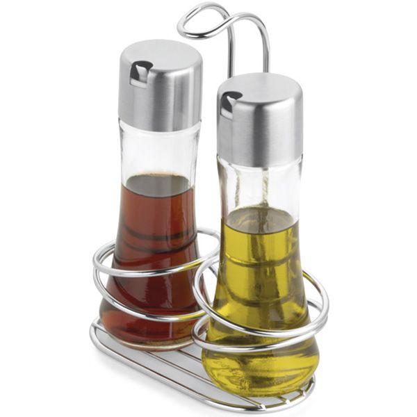 Galheteiro azeiteiro e vinagreiro -  3 Peças