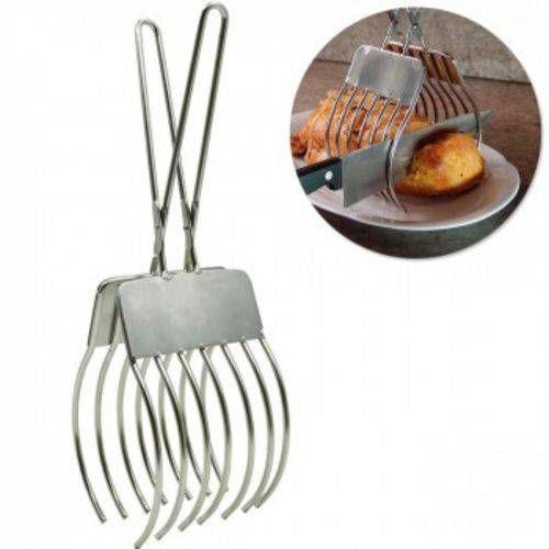 Pinça/pegador para fatiar carnes