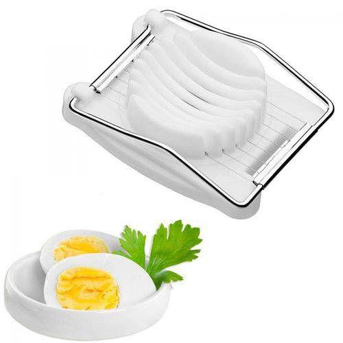 Cortador Fatiador De Ovos Cozidos Com 8 Tiras De Aco Inox Fackelmann