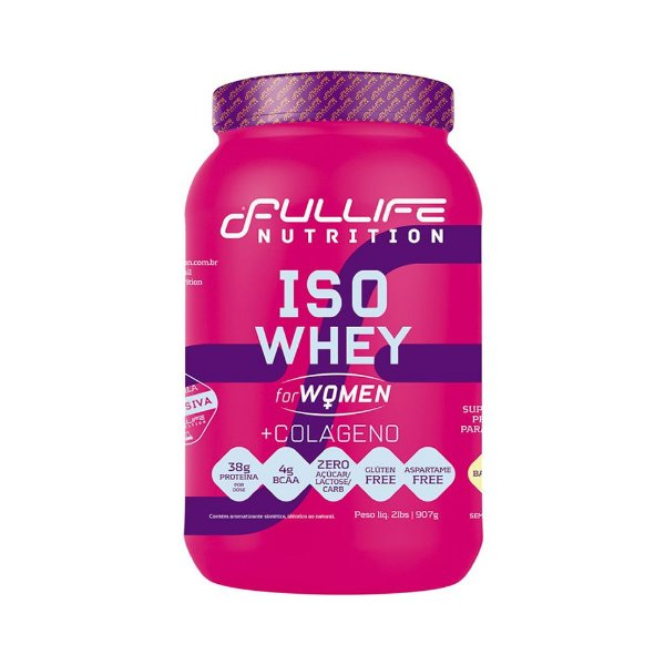 Iso Whey For Woman 907g - Fullife Nutrition