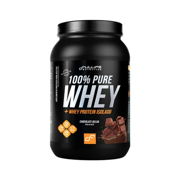100% Pure Whey 900g - Fullife Nutrition