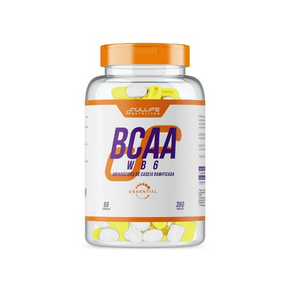 BCAA WB6 60caps - Fullife Nutrition