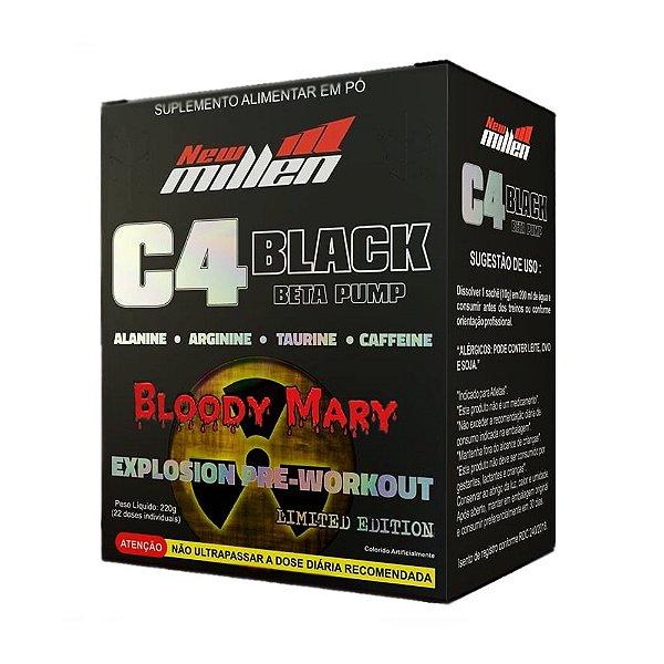 C4 Black Beta Pump 22 Sticks - Bloody Mary - New Millen