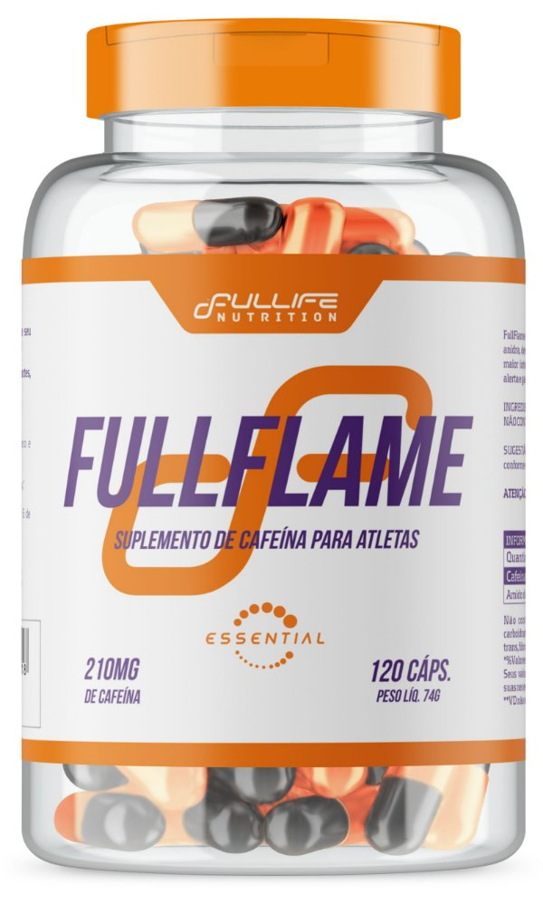 Fullflame 210mg 120caps - Fullife Nutrition