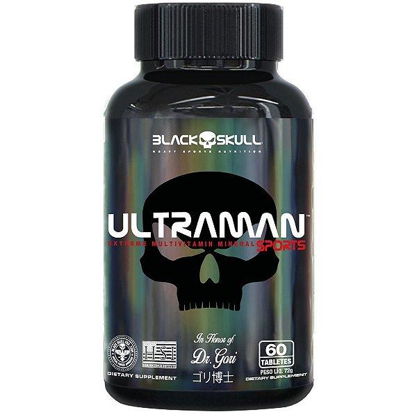 Ultraman 60caps - Black Skull